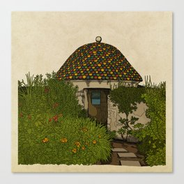 The Guard House Canvas Print