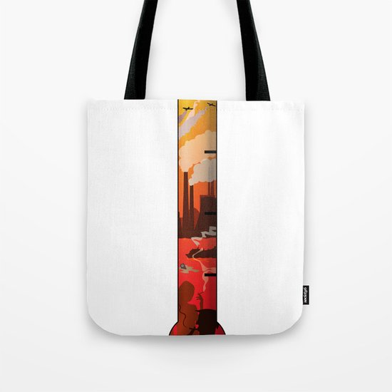 Pollution Tote Bag