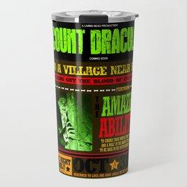 wanted poster Dracula Travel Mug
