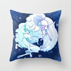 Vulpines Throw Pillow