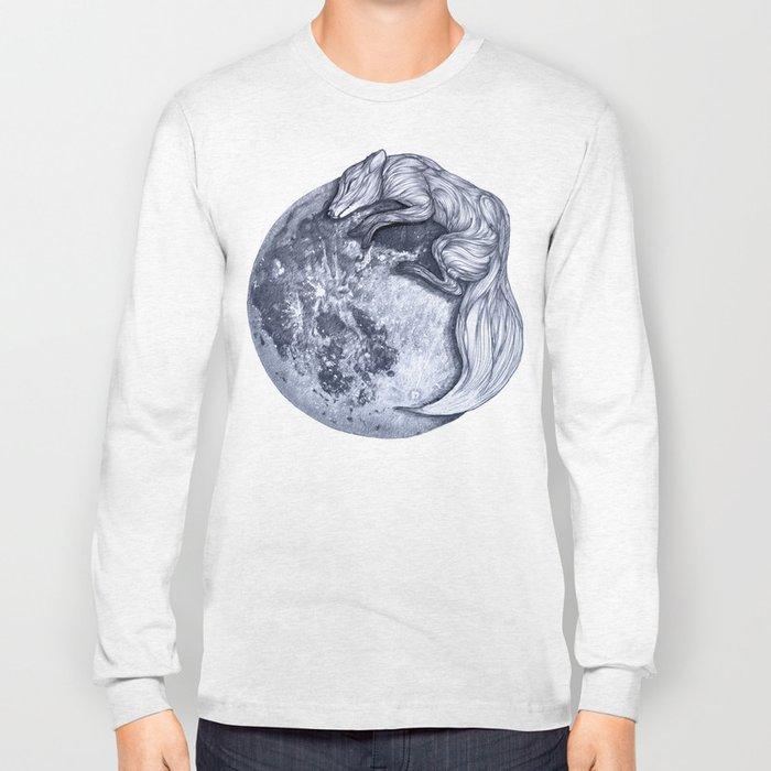 Blue Moon Fox Long Sleeve T-shirt