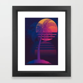Sunset Dreams Framed Art Print