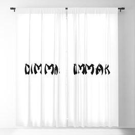 Dim Mak Blackout Curtain