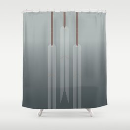 Macrame Shower Curtains