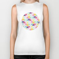 candy Biker Tanks featuring Candy by C Designz