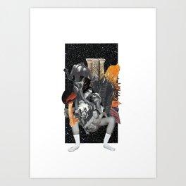 It began in Africa Art Print