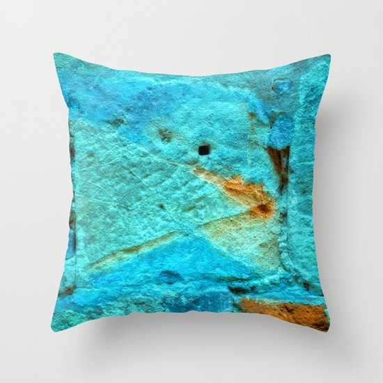 BREAKS IN THE WALL Throw Pillow