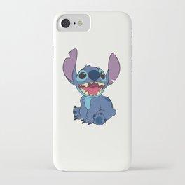 Happy Stitch iPhone Case