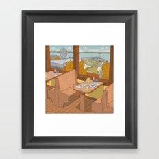 Athenian, Pike Place Market, Seattle WA Framed Art Print