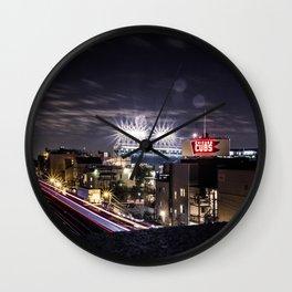 Wrigley Field Long Wall Clock