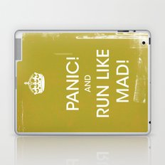 panic in mustard Laptop & iPad Skin