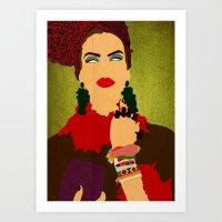 brasil Art Prints featuring Brasil by frtortora