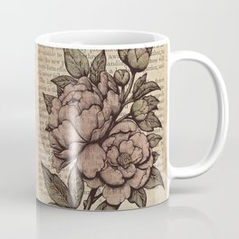 Peonies  - Color Coffee Mug