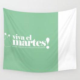 Viva el martes! Wall Tapestry