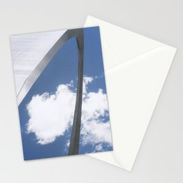 Gateway to the west Stationery Cards
