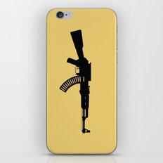 Art Not War - Yellow iPhone & iPod Skin