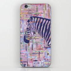 Zelda the Zebra iPhone & iPod Skin