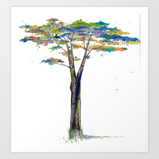 Jessi's Tree Art Print