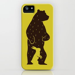 Kuma to Usagi iPhone Case