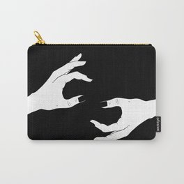 Hand-Drawn Hand Drawing Carry-All Pouch