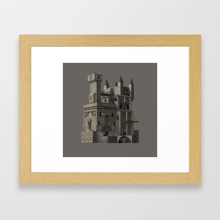 castle Framed Art Print
