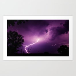 Nature's Awesome Power Art Print