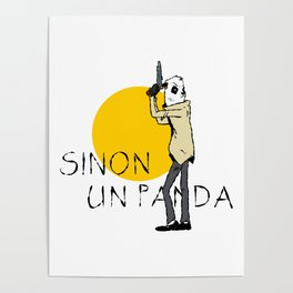 Sinon, un panda (4) Poster