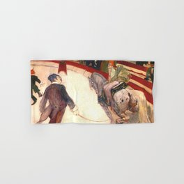 "Henri de Toulouse-Lautrec ""Equestrienne (At the Cirque Fernando)"" Hand & Bath Towel"
