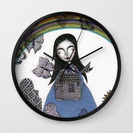 Rainbow Mine (4) Wall Clock