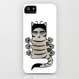 Cat insect Kafka. Metamorphosis. iPhone Case