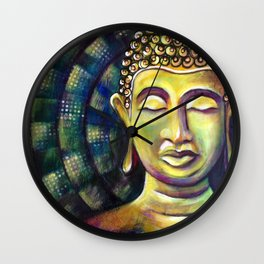 Namasté Wall Clock