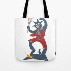 Krampus + Kitties Tote Bag
