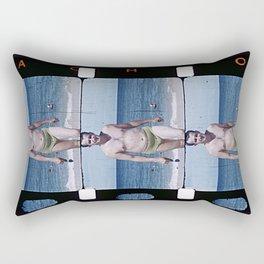 What a man! Rectangular Pillow