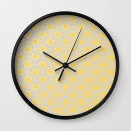 Spring Floral Pattern VII Wall Clock