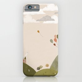 Mountain Walk iPhone Case