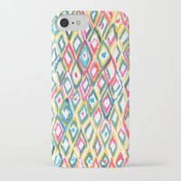 ikat iPhone & iPod Cases featuring IKAT by  Ray Athi