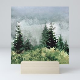 Pine Trees 2 Mini Art Print