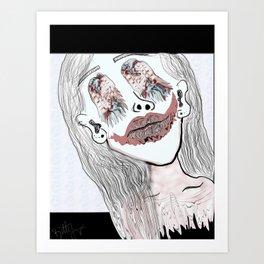 BITTY V Art Print