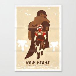 New Vegas Canvas Print