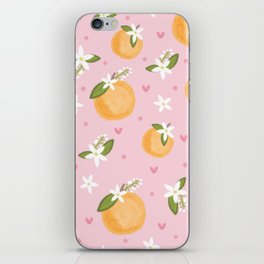 Orange Blossoms iPhone Skin