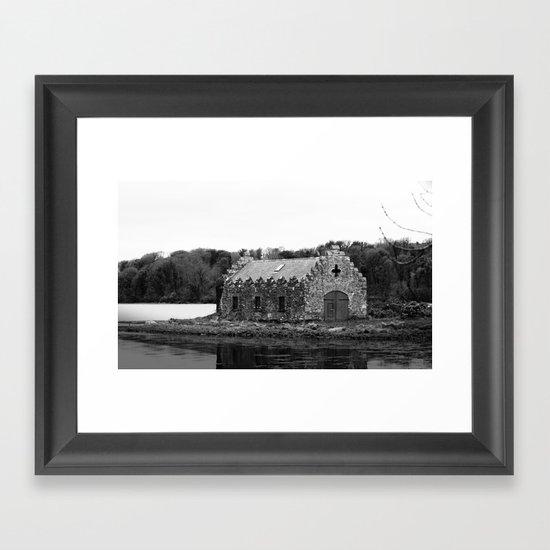 An old Irish Church Framed Art Print