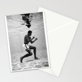 Boxing Legend - Cassius Marcellus Clay Jr - BLM - Black - Power - Muhammad - The Greatest - Ali 76 Stationery Cards
