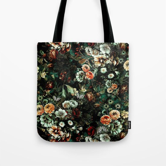 Night Garden VI Tote Bag