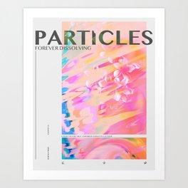 Particles Art Print