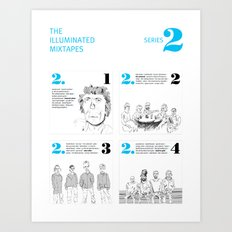 The Illuminated Mixtapes, Series 2 Art Print