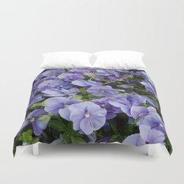 Pansy flower Duvet Cover
