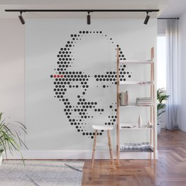 Foucault in Dots Wall Mural