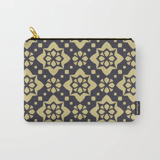 Abstract geometric Pattern 89 Carry-All Pouch