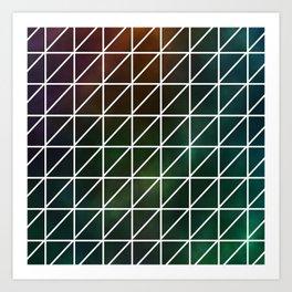 Stellar Geometric Art Print