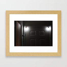 Bar The Door Framed Art Print
